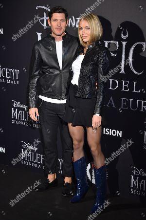 Stock Image of Aldo Montano and Olga Plachina