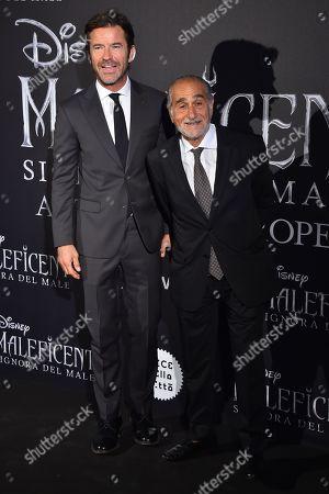 Paolo Conticini and Pino Ammendola