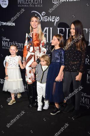 Eleonora Abbagnato and family