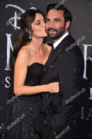 Editorial picture of 'Maleficent: Mistress of Evil' European film premiere, Rome, Italy - 07 Oct 2019