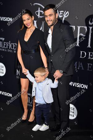 Ariadna Romero and family