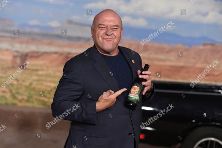 "Dean Norris arrives at the Los Angeles premiere of ""El Camino: A Breaking Bad Movie"" at the Regency Village Theatre on in Westwood, Calif"