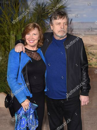 "Mark Hamill, Marilou York, Chelsea Hamill. Mark Hamill, Marilou York and Chelsea Hamill arrive at the Los Angeles premiere of ""El Camino: A Breaking Bad Movie"" at the Regency Village Theatre on in Westwood, Calif"