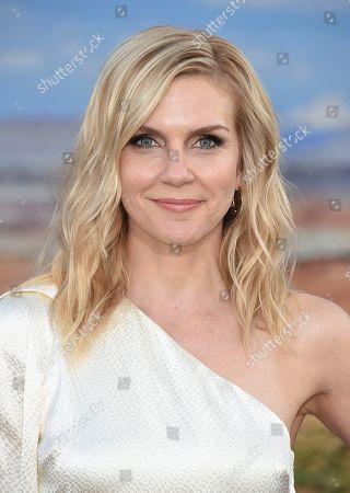 """Rhea Seehorn arrives at the Los Angeles premiere of """"El Camino: A Breaking Bad Movie"""" at the Regency Village Theatre on in Westwood, Calif"""