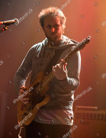 """Mike Einziger of the band Incubus performs in concert during their """"20 Years of Make Yourself and Beyond Tour"""" at The Met, in Philadelphia"""