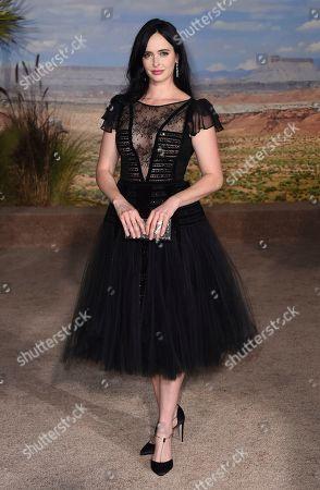 "Krysten Ritter arrives at the Los Angeles premiere of ""El Camino: A Breaking Bad Movie,"" at the Regency Village Theatre, in Westwood, Calif"