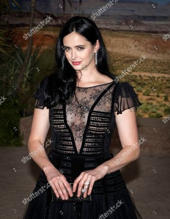Krysten Ritter poses for photographers as she arrives at the premiere of the Netflix production El Camino: A Breaking Bad Movie, at the Regency Village Theatre in Los Angeles, USA, 07 October 2019.