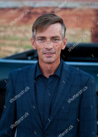 Stock Image of Charles Baker arrives at the premiere of the Netflix production El Camino: A Breaking Bad Movie, at the Regency Village Theatre in Los Angeles, USA, 07 October 2019.