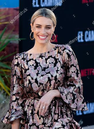 Stock Photo of Arielle Vandenberg arrives at the premiere of the Netflix production El Camino: A Breaking Bad Movie, at the Regency Village Theatre in Los Angeles, USA, 07 October 2019.