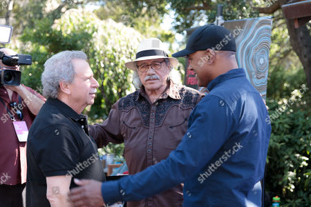 Edward James Olmos, Mark Fishkin and Michael Olmos