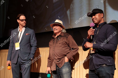 Robert Anderson, Edward James Olmos and Michael Olmos