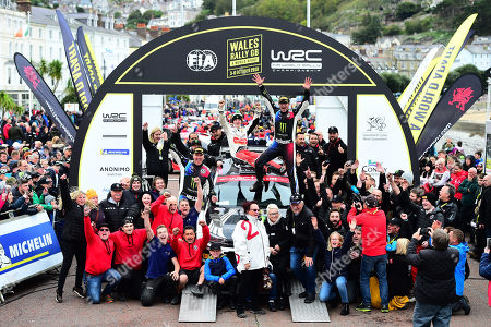 Editorial picture of Wales Rally GB, Wales, UK - Oct 2019