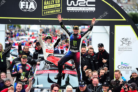 Editorial image of Wales Rally GB, Wales, UK - Oct 2019