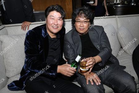 Song Kang Ho and Bong Joon Ho (Director)