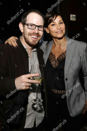 Ari Aster and Gina Gershon