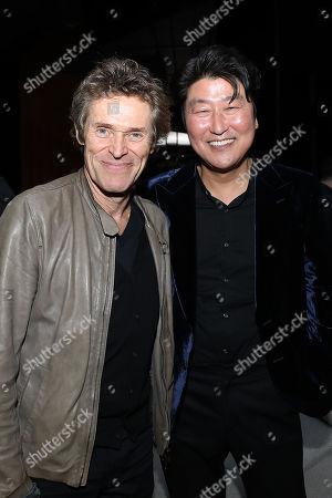 Willem Dafoe and Song Kang Ho