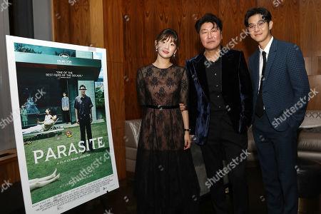 Park So Dam, Song Kang Ho and Choi Woo Shik
