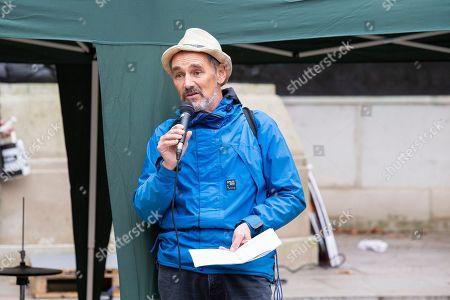 Mark Rylance speech at an Extinction Rebellion protest in St James's Park.