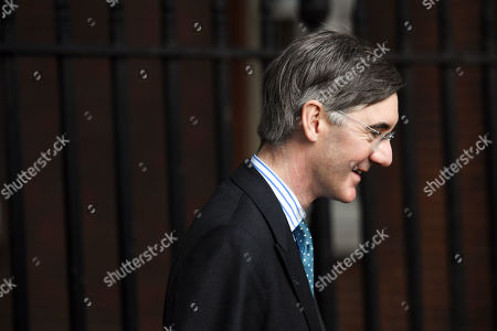 Jacob Rees-Mogg, Leader of the House of Commons, arriving at No.10 Downing Street, London.