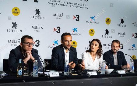 Angel Sala, Christian Volckman, Olga Kurylenko and Reynald, Capurro