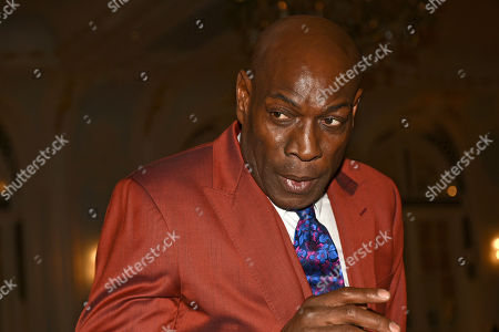Frank Bruno during the Boxing Writers Club Annual Dinner at the Savoy Hotel on 7th October 2019