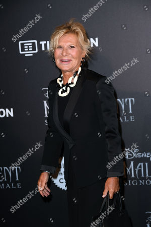 Editorial photo of 'Maleficent: Mistress of Evil' European film premiere, Rome, Italy - 07 Oct 2019