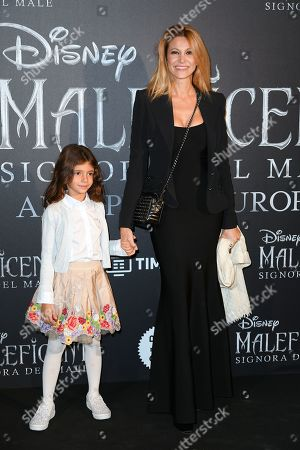 Adriana Volpe and daughter Gisele Parli