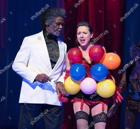 Stock Picture of Willard White as Jupiter, Mary Bevan as Eurydice,