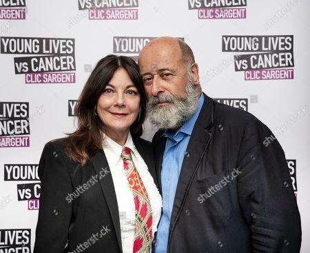 Susan Young and CLIC Sargent Ambassador Richard Young