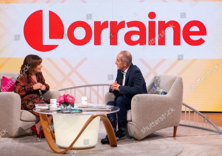 Lorraine Kelly and Kevin McCloud