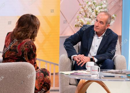 Stock Image of Lorraine Kelly and Kevin McCloud