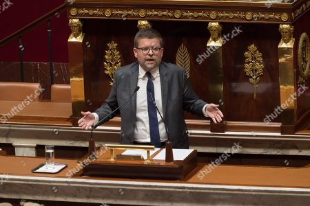 Editorial photo of Parliamentary debate on migration, National Assembly,  Paris, France - 07 Oct 2019