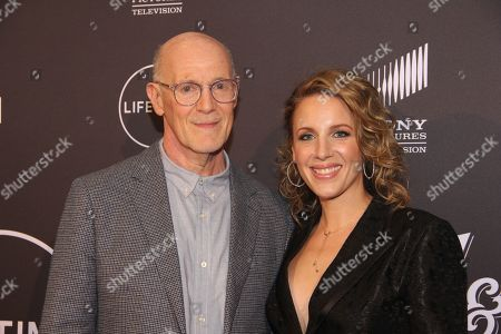 Neil Meron and Jessie Mueller