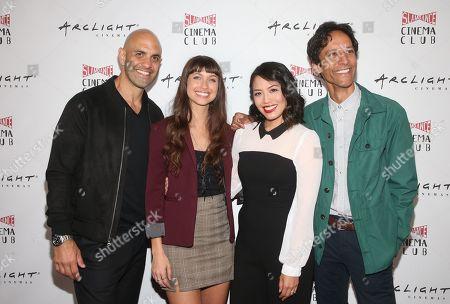 Stock Image of Eddie Alfano, Maiara Walsh, Emily C. Chang, Danny Pudi