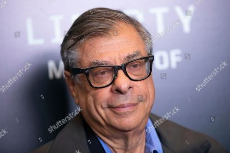 "Bob Colacello attends the world premiere of HBO's ""Liberty: Mother of Exiles"" at NYIT Auditorium on Broadway, in New York"