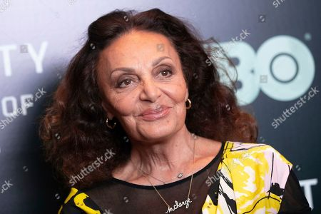 "Diane Von Furstenberg attends the world premiere of HBO's ""Liberty: Mother of Exiles"" at NYIT Auditorium on Broadway, in New York"