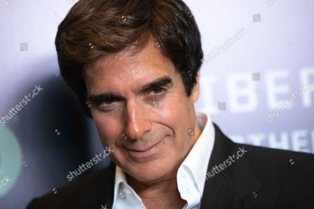 "David Copperfield attends the world premiere of HBO's ""Liberty: Mother of Exiles"" at NYIT Auditorium on Broadway, in New York"
