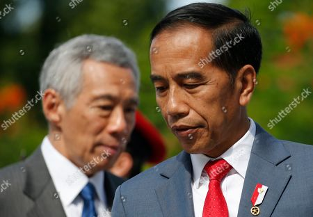 Editorial image of Singapore-Indonesia Leaders' Retreat in Singapore - 08 Oct 2019