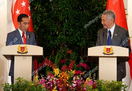Editorial picture of Singapore-Indonesia Leaders' Retreat in Singapore - 08 Oct 2019