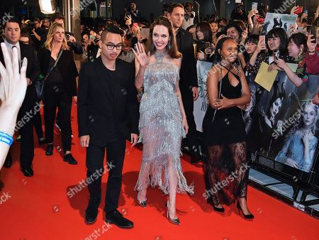 Editorial picture of 'Maleficent: Mistress of Evil' film premiere, Roppongi Hills Arena, Tokyo, Japan - 03 Oct 2019