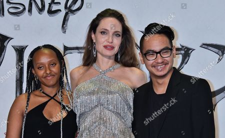 Editorial photo of 'Maleficent: Mistress of Evil' film premiere, Roppongi Hills Arena, Tokyo, Japan - 03 Oct 2019