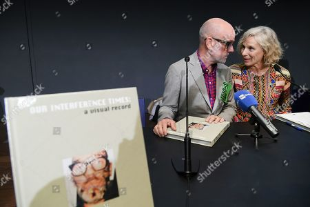 Michael Stipe, President of Maxxi Museum Giovanna Melandri,