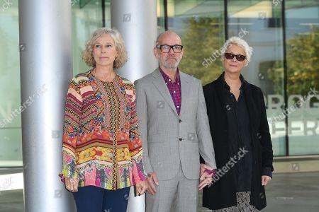 President of Maxxi Museum Giovanna Melandri, former leader of R.E.M. Michael Stipe, Silvia Pesci President of Damiani Editore