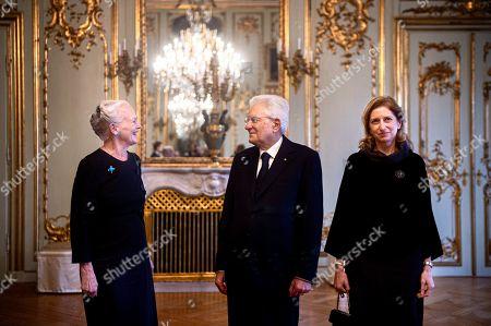 Editorial image of President of Italy Sergio Mattarella is on an official visit to Denmark, Copenhagen - 08 Oct 2019