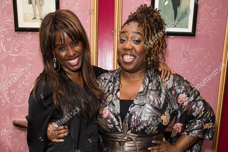 June Sarpong and Chizzy Akudolu attend The Black Magic Awards 2019 'Women's Edition' held at The Criterion Theatre, Piccadilly Circus in London.