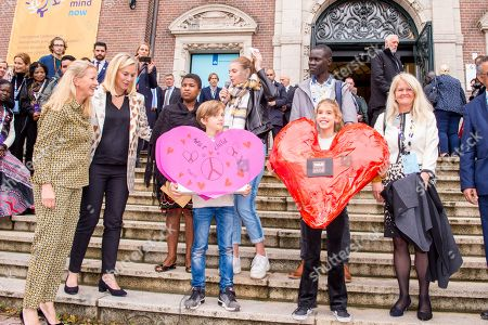 Editorial photo of Mental Health and Psychosocial support conference, Amsterdam, Netherlands - 08 Oct 2019