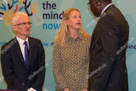 Dutch Princess Mabel during the Mental Health and Psychosocial Support Conference at the 'Koninklijk Instituut' (Royal Tropical Institute).