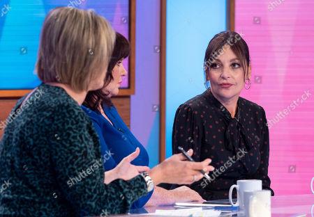 Editorial image of 'Loose Women' TV show, London, UK - 08 Oct 2019