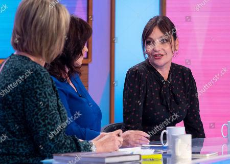 Editorial photo of 'Loose Women' TV show, London, UK - 08 Oct 2019