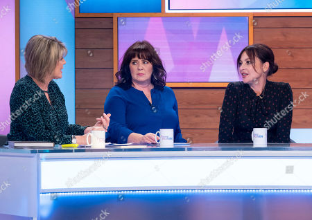 Stock Photo of Ruth Langsford, Coleen Nolan, Pearl Lowe